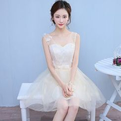 Destine - Tulle Bridesmaid Dress (6 Designs)