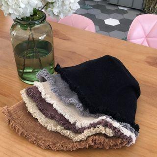 Birravin - Fringed Bucket Hat