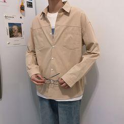 Moarit - Plain Long-Sleeve Shirt