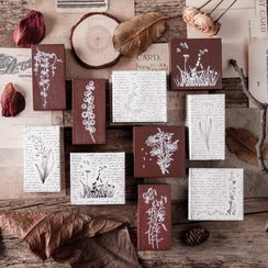 JIMO - Plant Wooden Stamp