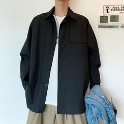 Avilion - Long-Sleeve Plain Shirt