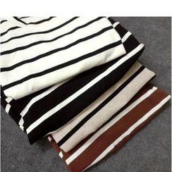 Oaksa - 条纹短袖T恤