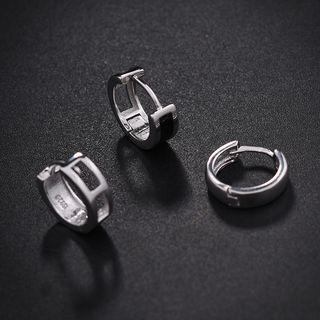 Soosina - 不锈钢圈环耳环 (多款设计)