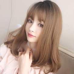 SEVENQ - 中型假髮 - 直髮