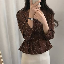 Leighlani - Dotted Blouse