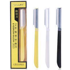 YOUSHA - Set of 4: Stainless Steel Eyebrow Razor