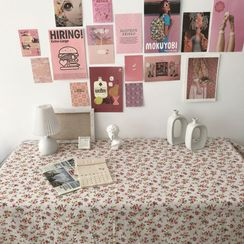 TangTangBags - Floral Print Table Cloth Photography Backdrop