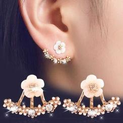 Glamiz - 花朵耳飾