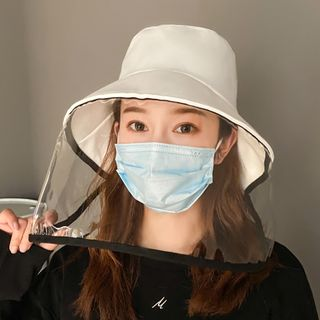 HALAHOME - Bucket Hat with Face Shield