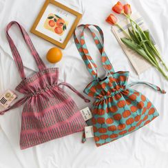 Geolte - Print Canvas Tote Bag