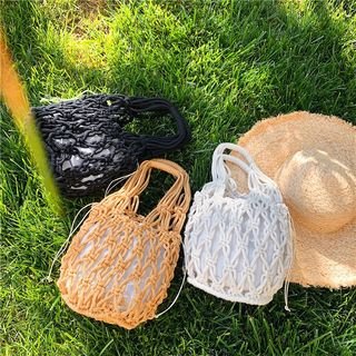 BAGSHOW - 编织手提包