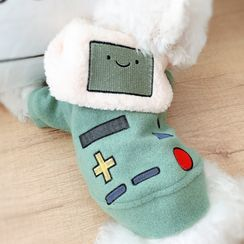 Mily Pets - Cartoon Game Console Hooded Pet Top