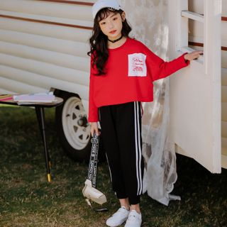 Hobab - Kids Set: Long-Sleeve T-Shirt + Sweatpants