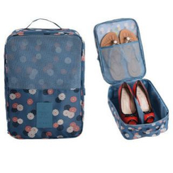 Evorest Bags - 印花旅行鞋子收纳包