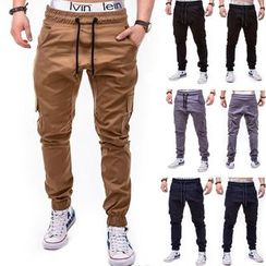 Hansel - Drawstring Jogger Pants