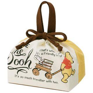 Skater - Winnie the Pooh Drawstring Lunch Bag