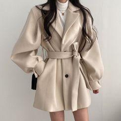 Coris - Tie Waist Coat