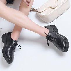Aegina - 厚底布洛克牛津鞋