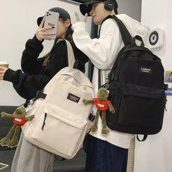 MUSIS - 纯色尼龙电脑背包