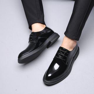 MARTUCCI - Patent Lace-Up Shoes