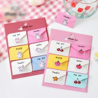 SOONERGO - Set: Mini Greeting Card + Sticker