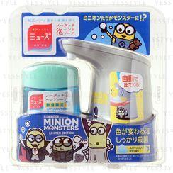 Muse - Minion No Touch Foam Hand Soap Gray Dispenser & Refill 250ml
