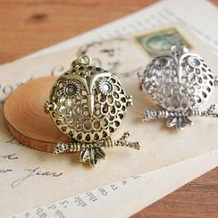Nisen - Owl Copper Fragrance Sachet Pendant