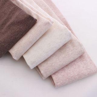 MEIA - 纯色袜裤 / 踩脚袜裤