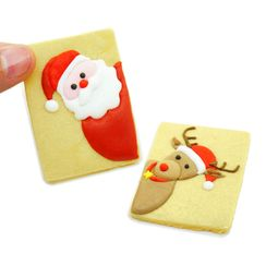 Nastaccey - Set of 2: Christmas Cookie Mold