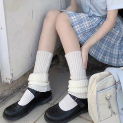Pouffle - Rib-Knit Leg Warmers
