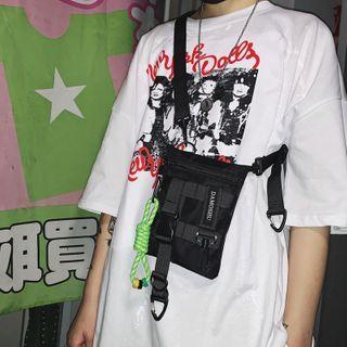 Mulgam - Nylon Zip Sling Bag / Bag Charm