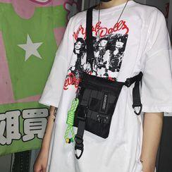 Mulgam - Breloque de sac / sac à bandoulière en nylon