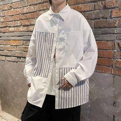 Freehop - Long-Sleeve Striped Shirt