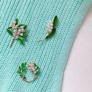 Hello minto - Leaf Brooch