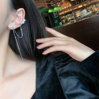 DREN - Flower Chained Earring
