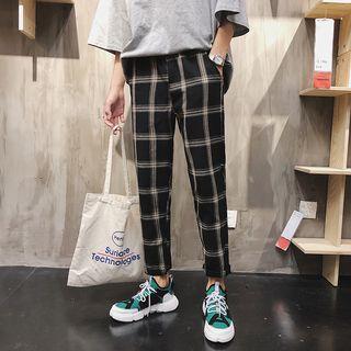 Acrius - 格子哈倫褲