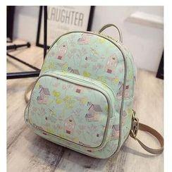 Merlain - Print Backpack