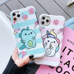 CeLLEAGUE - Unicorn Print Phone Case - iPhone 11, 11 Pro, 11 Pro Max, XS Max, X/XS, XR, 8p/7p, 8/7