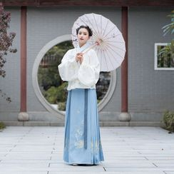 RIMIA - Set: Traditional Chinese Cosplay Top + Skirt