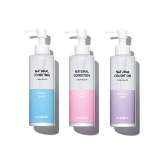 The Saem - Natural Condition Cleansing Oil - 3 Types