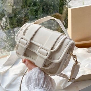 Skyglow(スカイグロウ) - Top Handle Flap Crossbody Bag