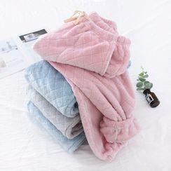 Dogini - Pajama Set: Furry Pullover + Pants