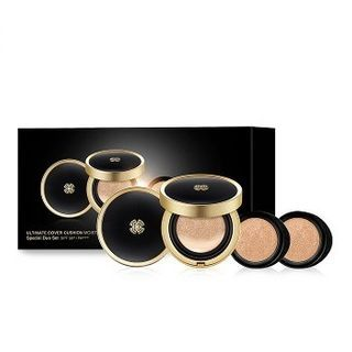 O HUI - Ultimate Cover Cushion Moisture Duo Set
