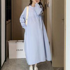 Owaho - 孕婦長襯衫裙