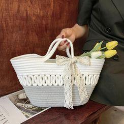 OLGALOG - 编织水桶包