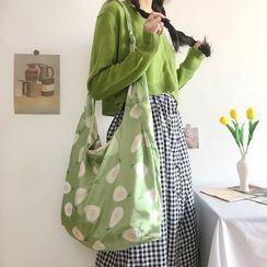 TangTangBags - Pear Canvas Shoulder Bag