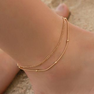 Mulyork - Layered Anklet