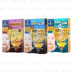 Kose - Clear Turn Premium Royal Gelee Mask 4 pcs - 3 Types