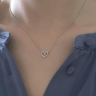 Betsuno - Alloy Heart Necklace