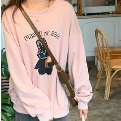 Tiny Times - Rabbit Print Sweatshirt